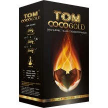 Уголь TOM COCO Yellow 25мм-72шт-1кг