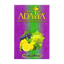 Adalya Grape-Mint-Lemon  (Виноград, мята и лимон) 50гр