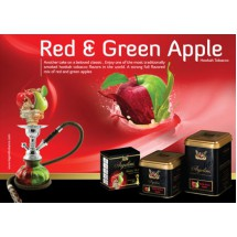 Argelini  Red and Green Apple | Двойное Яблоко 750 гр