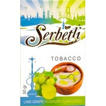 Serbetli Lime Grape yogurth (Лайм с Виноградом и йогуртом) 50гр